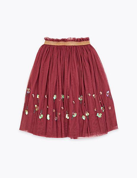 Embellished Tutu Skirt (3-16 Years)