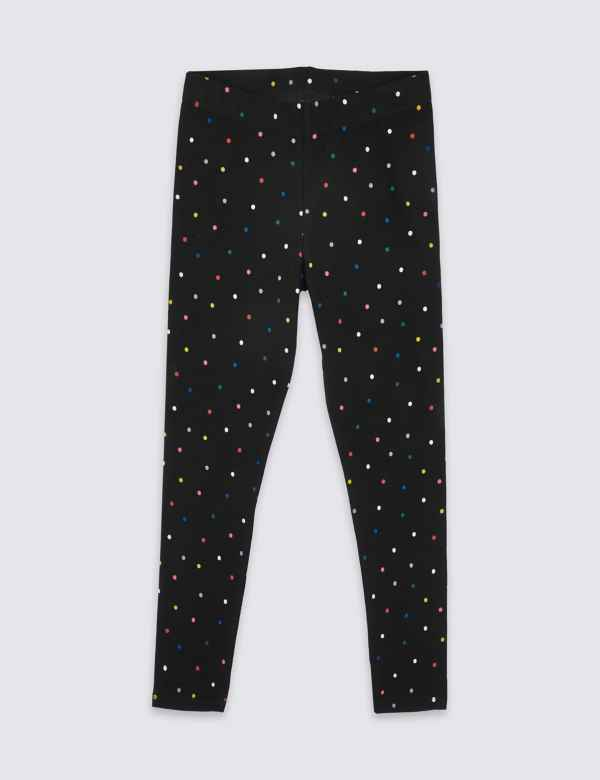 a2ebbd722 Cotton Leggings with Stretch (3-16 Years)