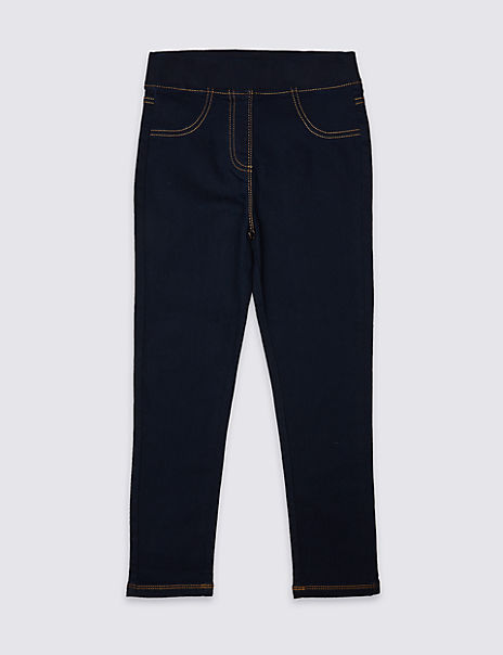 Easy Dressing Cotton Rich Jeggings (3-16 Years)