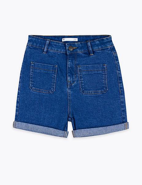 Denim Shorts (6-16 Years)