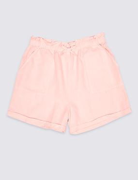 Linen Blend Shorts (3-16 Years)