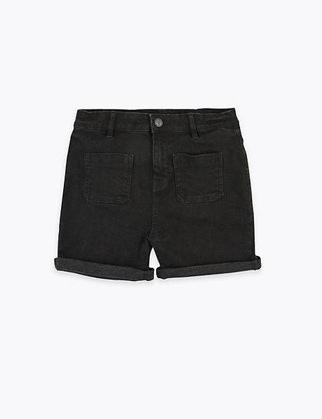 Regular Denim Shorts (6-16 Years)