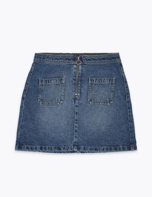 Denim Skirt (6-16 Yrs)