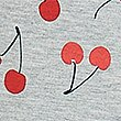 Cotton Cherry Leggings with Stretch (3-16 Years), GREY MARL, swatch