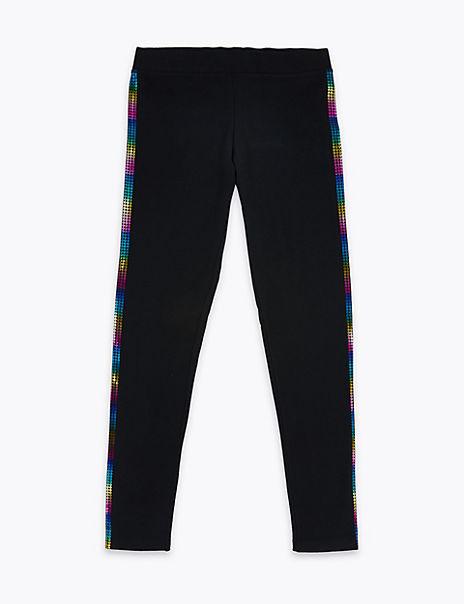 Rainbow Side Tape Leggings (6-16 Years)