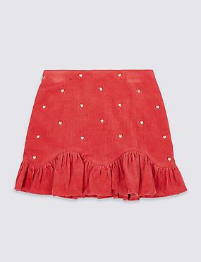 Heart Cord Skirt (3-16 Years)