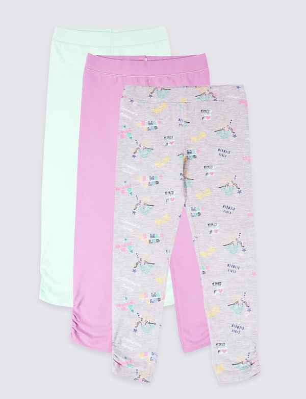 a8ac029b00f5cd Legging | Girls Clothes - Little Girls Designer Clothing Online | M&S