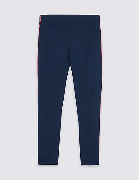 Cotton Rich Leggings with Stretch (3-16 Years)