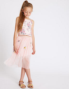 Applique Tutu Skirt (3-16 Years)
