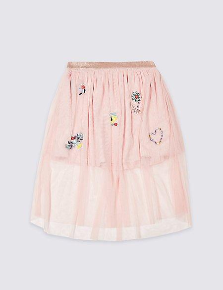 Applique Tutu Skirt (3-16 Years)