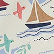 Pure Cotton Sail Boats Print Shorts (3-16 Years), WHITE MIX, swatch