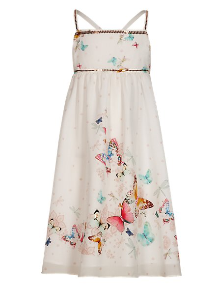 Sequin Embellished Maxi Dress (5-14 Years)