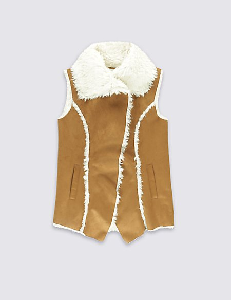 Shearling Gilet (5-14 Years)
