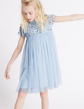 Embellished Dress (3-14 Years)