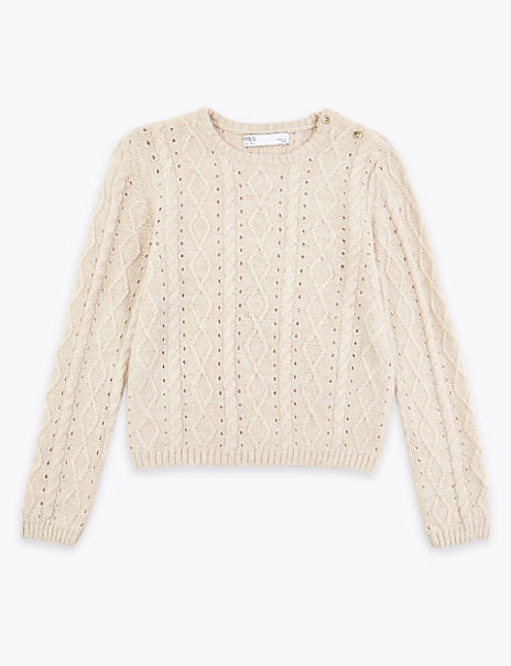 Lurex Jumper (3-16 Years)