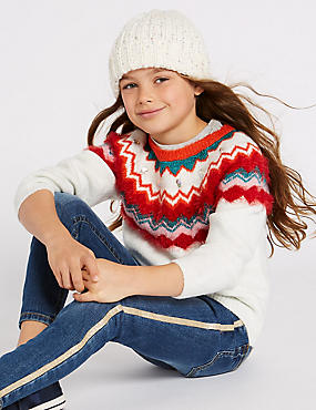Fairisle Knitted Jumper (3-16 Years)