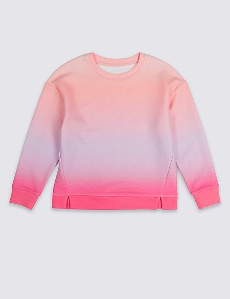 Ombre Sweatshirt (3-16 Years)