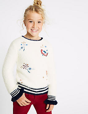 Embroidered Jumper (3-16 Years)