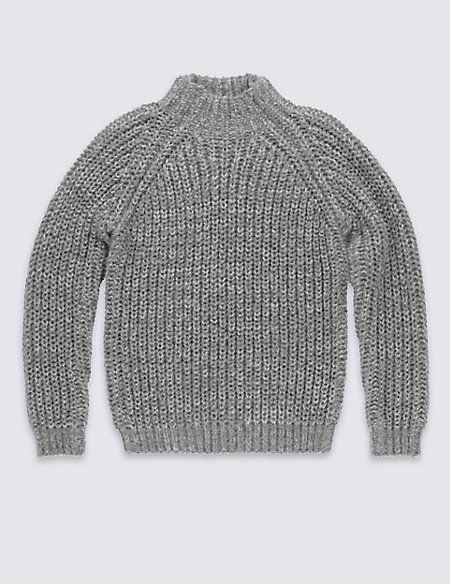 Chunky Roll Neck Jumper (5-14 Years)