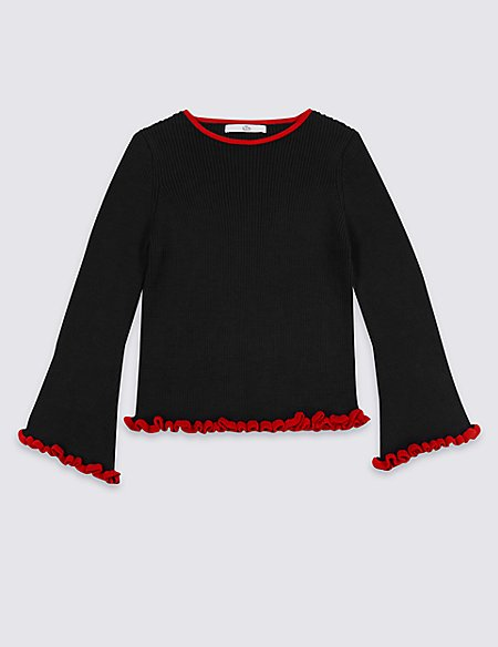 StayNEW™ Pure Cotton Jumper (3-16 Years)