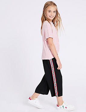 Stripe Side Culottes (3-16 Years)