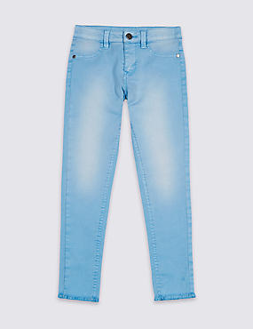 Cotton Rich Skinny Fit Jeans (3-16 Years)