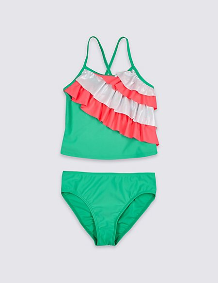 Tankini Set with Sun Safe UPF50+ (3-16 Years)