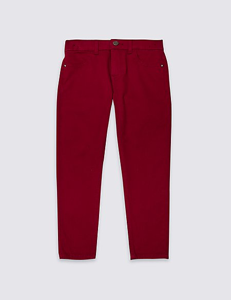 Cotton Jeans with Stretch (3-16 Years)
