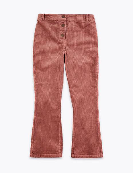 Corduroy Kick Flare Trousers (3-16 Years)