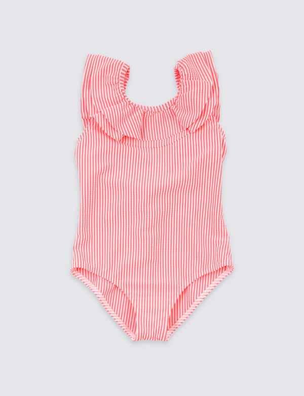 07e7a53e7a Striped Seersucker Swimsuit (3-16 Years)