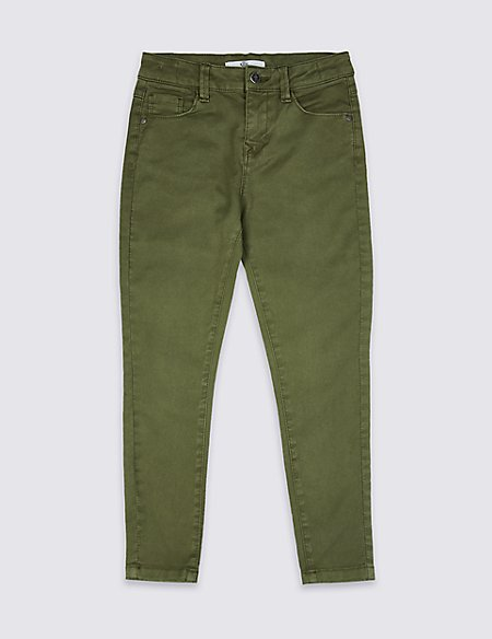 Cotton Rich Jeans (3-16 Years)