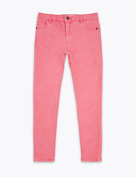 Cotton Rich Super Skinny Jeans (6-16 Years)
