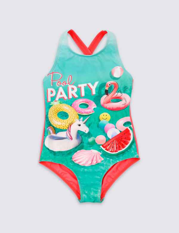 4f07374c5edd57 Pool Party Swimsuit (3-16 Years)