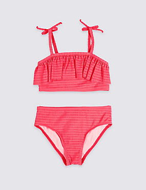 Bikini Set with Sun Safe UPF50+ (5-16 Years)