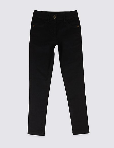 Skinny Jeans with Adjustable Waist (3-16 Years)