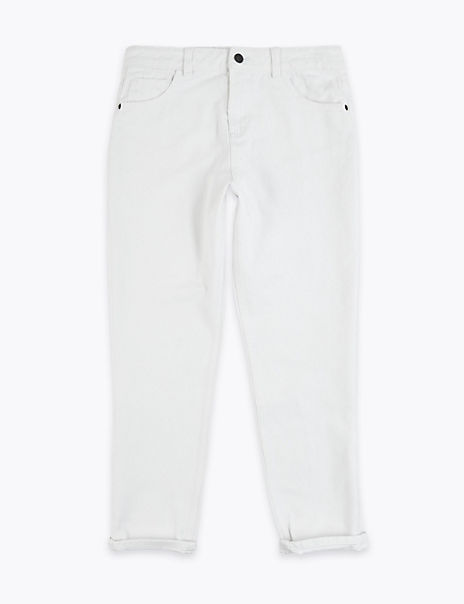 Pure Cotton Denim Jeans (6-16 Years)