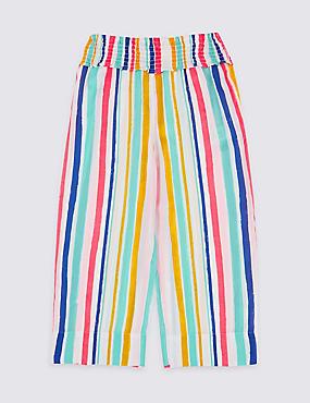 22ae03772ec Jupe-culotte à rayures (du 3 au 16 nbsp ans)