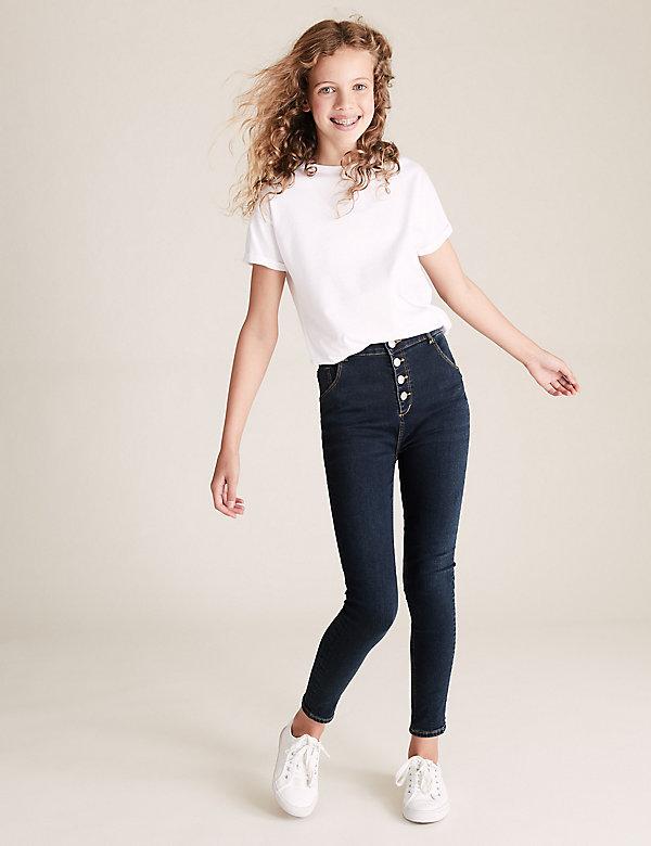 Mini Ivy Skinny High Waisted Jeans (6-16 Yrs)