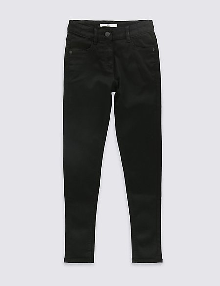 Cotton Rich Super Skinny Leg Jeans (3-14 Years)