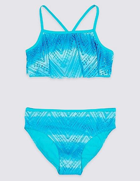 Bikini Set with Sun Safe UPF50+ (5-16 Years)