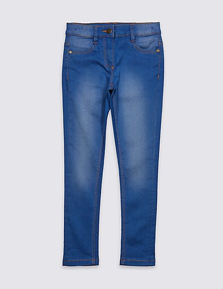 Cotton Rich Super Skinny Fit Jeans (3-14 Years)