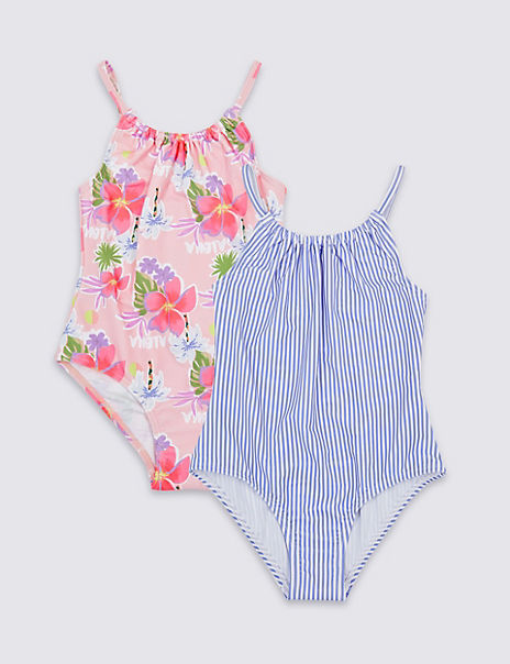 2 Pack Swimsuits (3-16 Years)