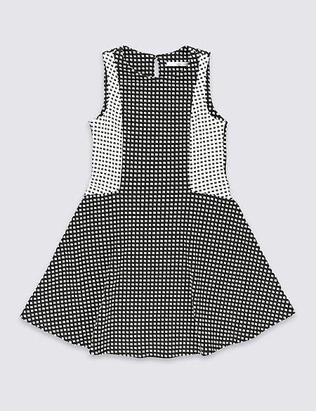 Sleeveless Ponte Dress (5-14 Years)