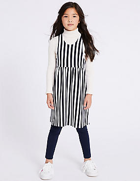Cotton Rich Pinny Dress (3-16 Years)