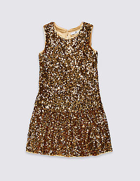 Sequin Dress (3-16 Years)