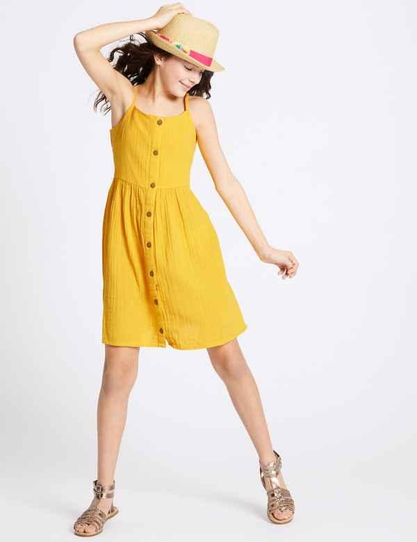 12a0cea72ba3f Pure Cotton Dress (3-16 Years)
