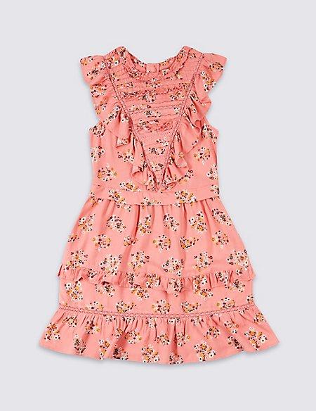 Tiered Ruffle Dress (3-16 Years)