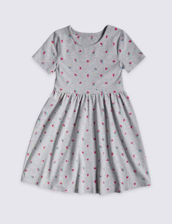 Girls' Clothing (0-24 Months) Red Baby Summer Dress Size 18-24 Months With Boats Houses Sunshine Sun Holiday Refreshment