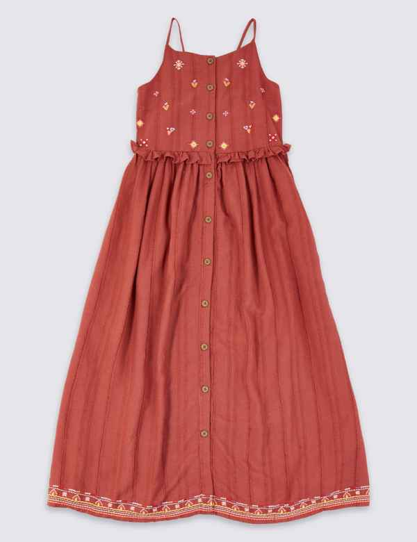 2eb49185803e Embroidered Berry Dress (3-16 Years)