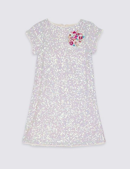 Sequin Shift Dress (3-16 Years)